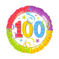 Happy 100th to me!