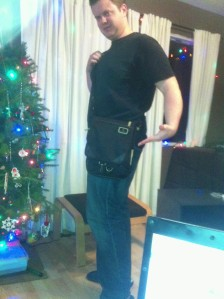 That's right... I can rock a ManBag... problem?