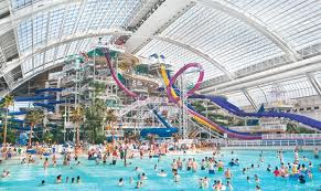 Did you know there's a full size water park in West Edmonton Mall?