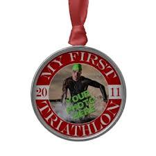 http://www.zazzle.ca/my_first_triathlon_2011_christmas_ornaments-175733636304575133